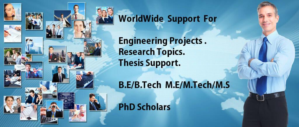 Wordwide support for engineering projects